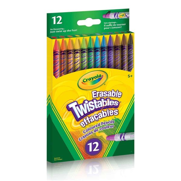 12 Erasable Twistables Coloured Pencils- Curiosity-Box-Craft-and-Educational-Boxes-Kids-Monthly-Subscription-Box