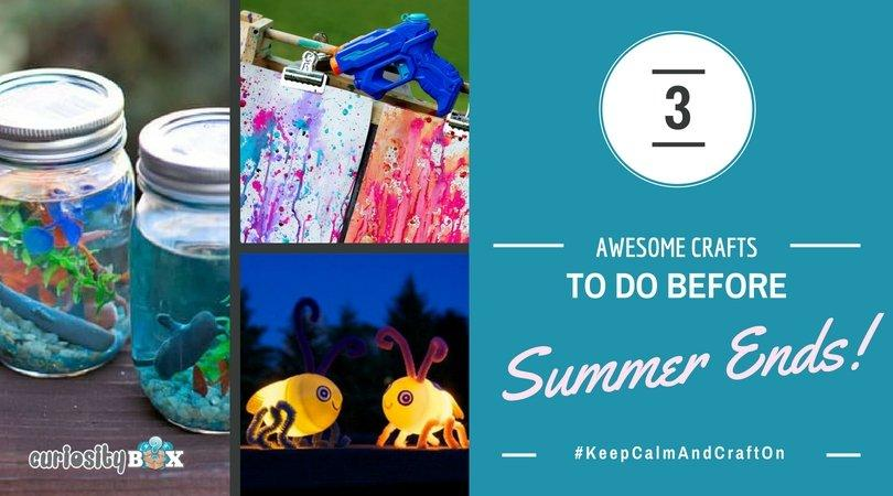 3 Crafts to do Before Summer Ends