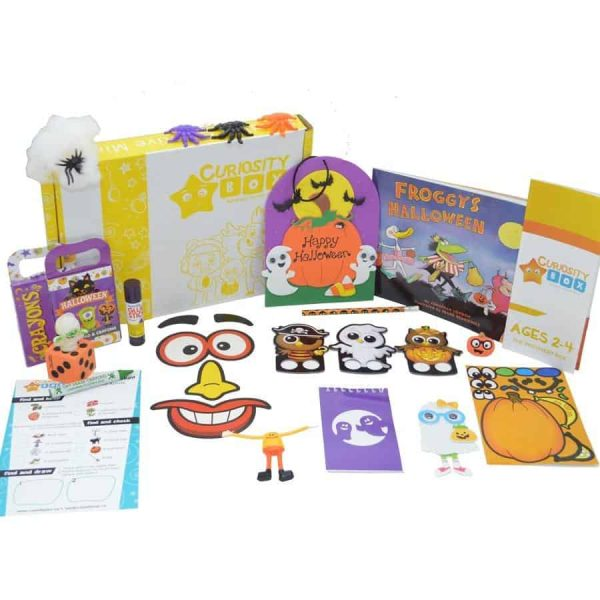 A Ghostly Halloween Craft Box for Age 2-4- Curiosity-Box-Craft-and-Educational-Boxes-Kids-Monthly-Subscription-Box