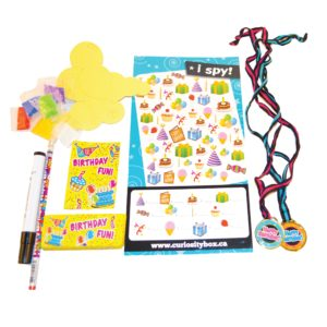 Birthday Surprise Pack Addon- Curiosity-Box-Craft-and-Educational-Boxes-Kids-Monthly-Subscription-Box
