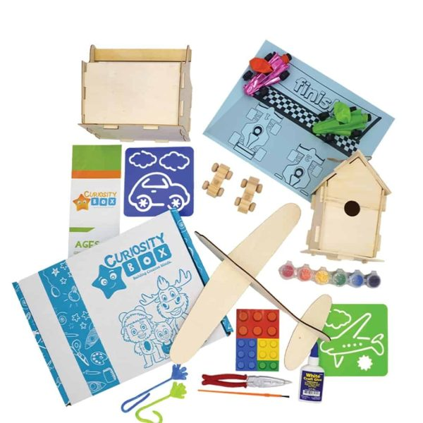 Build It Craft Box for Ages 8+- Curiosity-Box-Craft-and-Educational-Boxes-Kids-Monthly-Subscription-Box