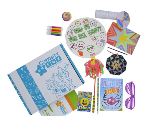 Colourful Lines Craft Box for Ages 8+- Curiosity-Box-Craft-and-Educational-Boxes-Kids-Monthly-Subscription-Box