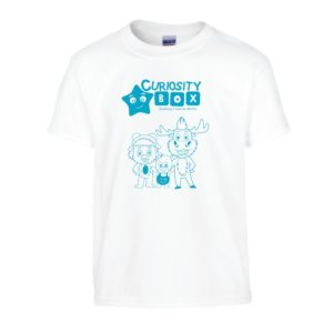 Curiosity Box Little Crafters Tshirt- Curiosity-Box-Craft-and-Educational-Boxes-Kids-Monthly-Subscription-Box