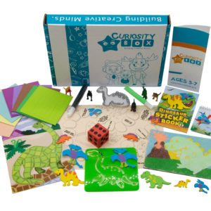 Dino Times Craft Box for Ages 5-7- Curiosity-Box-Craft-and-Educational-Boxes-Kids-Monthly-Subscription-Box