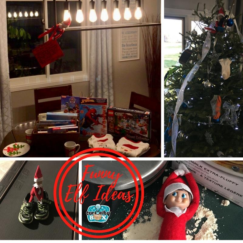 Elf on The Shelf Funny Ideas and FREE Printable