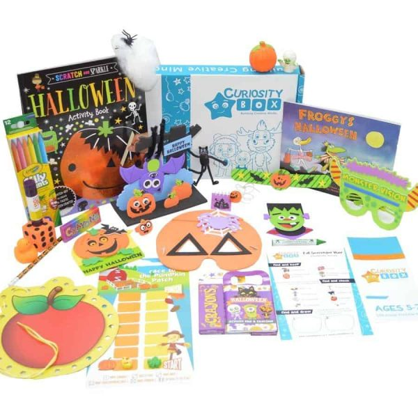 Extreme Halloween Jr. Edition Craft Box for ages 2-6- Curiosity-Box-Craft-and-Educational-Boxes-Kids-Monthly-Subscription-Box