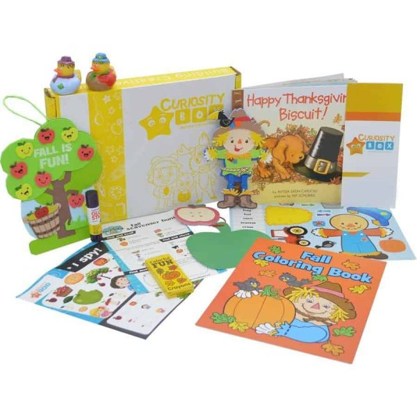 Fall Days Craft Box for Age 2-4- Curiosity-Box-Craft-and-Educational-Boxes-Kids-Monthly-Subscription-Box