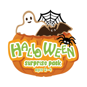 Halloween Surprise Pack Craft Box Ages 2-4- Curiosity-Box-Craft-and-Educational-Boxes-Kids-Monthly-Subscription-Box