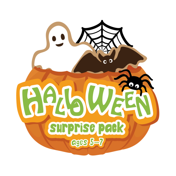Halloween Surprise Pack Craft Box for Ages 5-7- Curiosity-Box-Craft-and-Educational-Boxes-Kids-Monthly-Subscription-Box