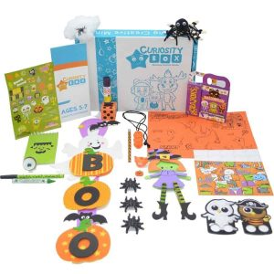 Haunted Halloween Craft Box Ages 5-7- Curiosity-Box-Craft-and-Educational-Boxes-Kids-Monthly-Subscription-Box