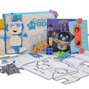 Robot Rob Kids Craft & Educational Box for Ages 2-4- Curiosity-Box-Craft-and-Educational-Boxes-Kids-Monthly-Subscription-Box
