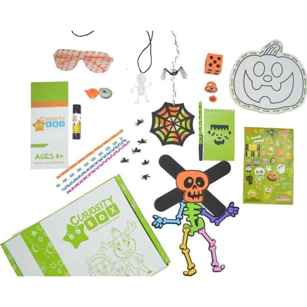 Spooky Halloween Craft Box for Ages 8+- Curiosity-Box-Craft-and-Educational-Boxes-Kids-Monthly-Subscription-Box