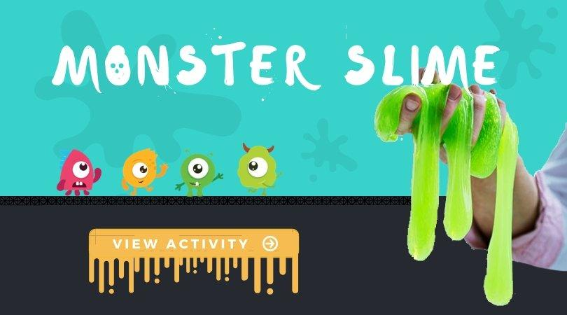 Spooky Monster Slime Perfect for Halloween