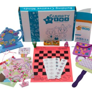 Tea Time Craft Box for Ages 5-7- Curiosity-Box-Craft-and-Educational-Boxes-Kids-Monthly-Subscription-Box