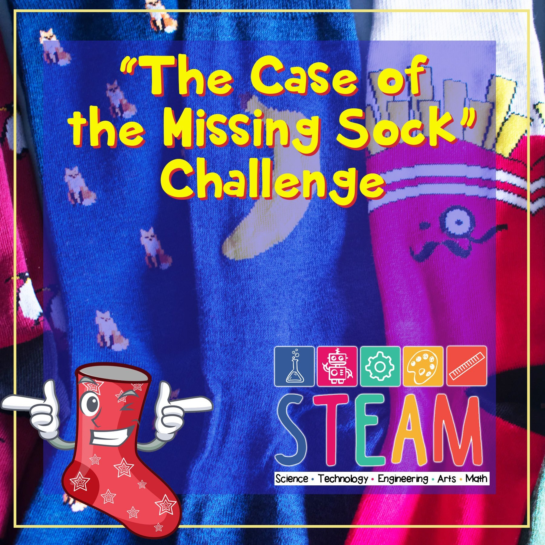 The Case of the Missing Sock Challenge