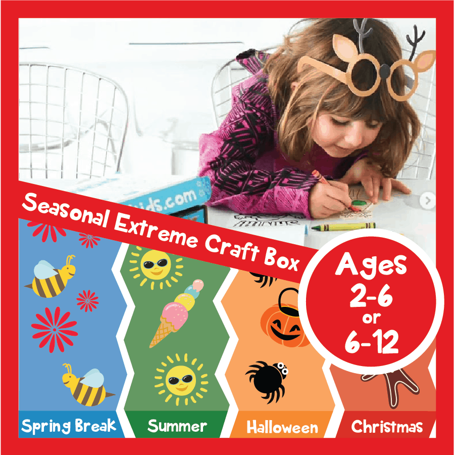 Kids Extreme Crafting and Educational Quarterly Subscription Box