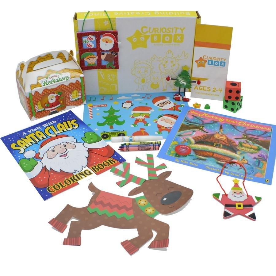 Christmas All Around Craft Box for Age 2-4- Curiosity-Box-Craft-and-Educational-Boxes-Kids-Monthly-Subscription-Box