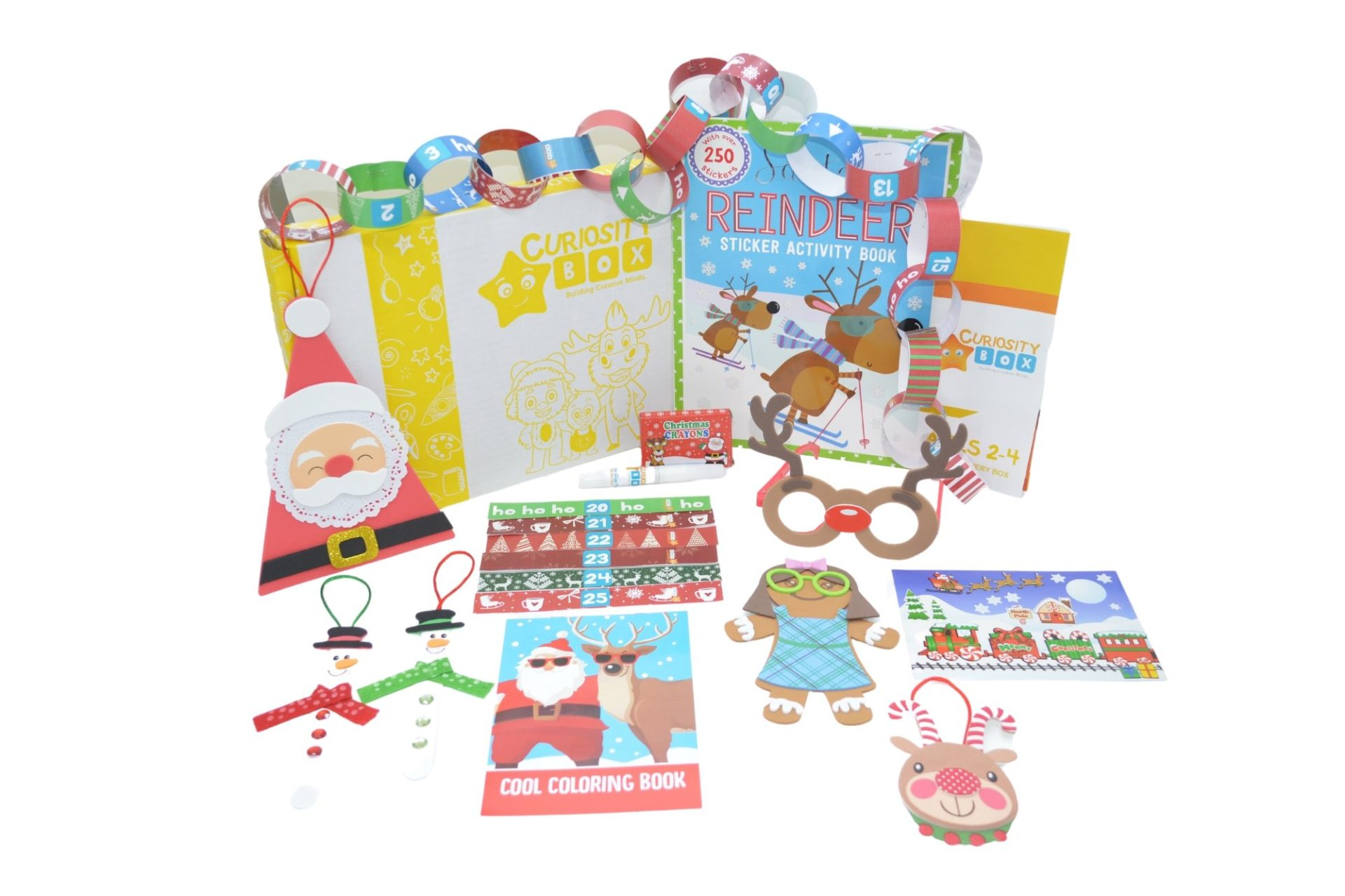 Crafty Christmas Countdown Craft Box 2-4- Curiosity-Box-Craft-and-Educational-Boxes-Kids-Monthly-Subscription-Box