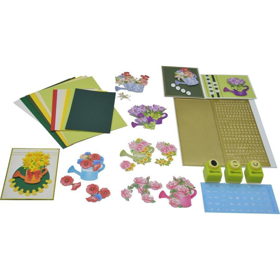 Paper Card Making Adult Crafting Kit - Curiosity Box Kids - Monthly Kids Subscription Box