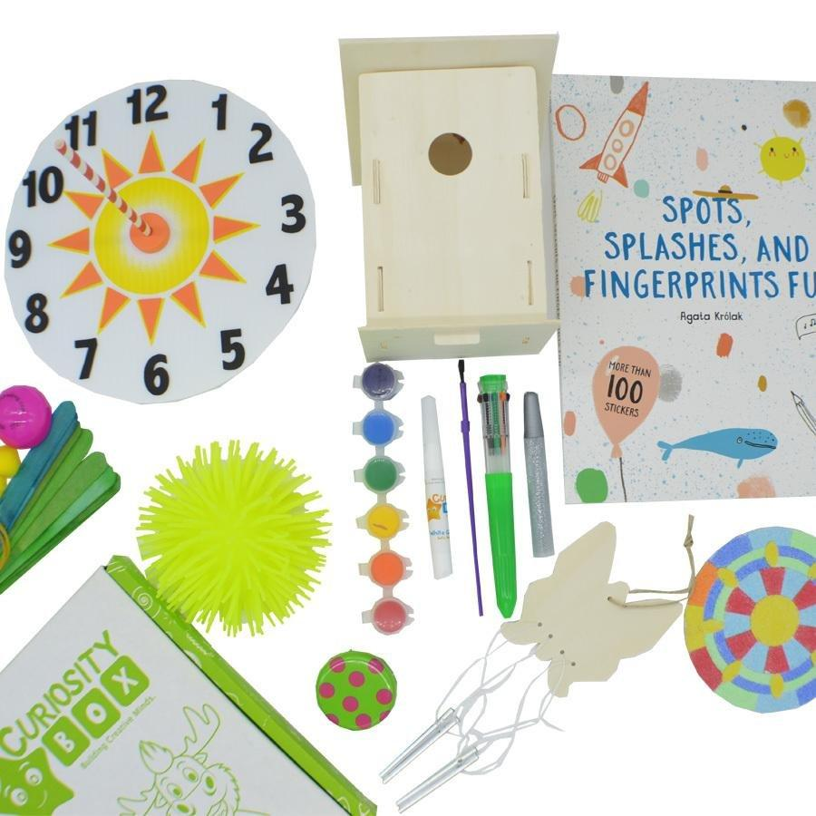 Spring Time Craft Box Ages 8+ - Curiosity Box Kids - Monthly Kids Subscription Box