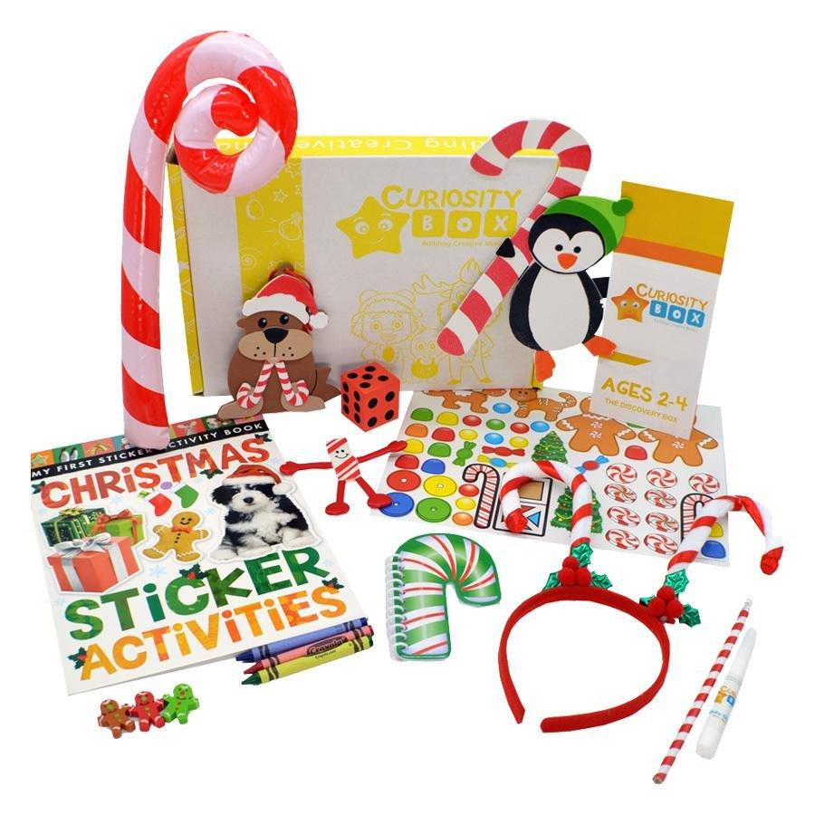 Sweet Holidays Craft Box for Age 2-4- Curiosity-Box-Craft-and-Educational-Boxes-Kids-Monthly-Subscription-Box
